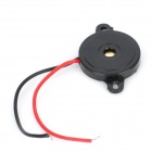 22mm * 3mm Piezo Buzzers - Black (DC 9V / 5PCS)