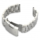 QGY-22 Stylish Stainless Steel Wrist Watch Band - Silver