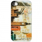 Stylish Protective PC Back Case for iPhone 4 / 4S - London Big Ben Pattern