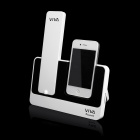 VIVA-1 Bluetooth V2.1 + EDR Handset w / Charging Dock Station für iPhone 4 / 4S - Weiß