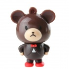Cartoon Little Bear Style USB 2.0 Flash Drive - Brown (4GB)