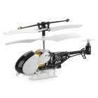 Iphone/Ipod Touch/Ipad Controlled Mini Rechargeable 3.5-CH R/C Helicopter w/ Gyro - White + Black