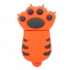 Cartoon Tiger Claw Style USB 2.0 Flash Drive - Yellow (8GB)