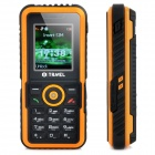 "iTravel LM-802 Super Rugged GSM Bar Phone w/ 1.8"" Screen, Quad-Band, Single-SIM and FM - Orange"