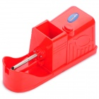 Cigarette Tobacco Filling Injector Rolling Machine with Power Adapter - Red