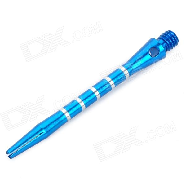 Professional Aluminum Alloy Dart Shaft Pole - Blue (3-Piece Pack) professional aluminum alloy carving