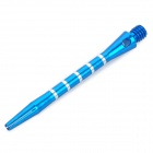 Professional Aluminum Alloy Dart Shaft Pole - Blue (3-Piece Pack)