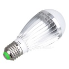 E27 7W 700~770lm 3000~3300K LED Warm White Light Lamp (90~265V)