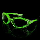 LED Flashing Light Green Light Glasses for Evening Club Party (2 x AA)