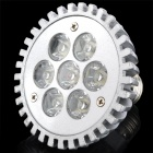 E27 7W 650~750lm 6000~6300K LED White Light Spotlight (100~240V)