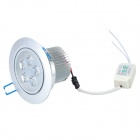 5W 500~550lm 6000~6300K LED White Light Ceiling Down Lamp (100~240V)