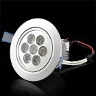 7W 700~770LM 3000~3300K LED Warm White Light Ceiling Down Lamp (100~240V)