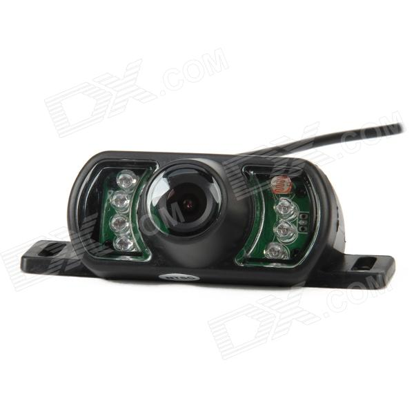 HP-DM320 Car Wired Rear View Camera w/ 7-IR Night Vision LED Lights - Black (NTSC) water resistant 2 4ghz wired car rear view camera w 7 ir night vision led black pal