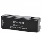 SY-690 USB 2.0 Multi-Card Reader + Bluetooth V2.0 Adapter Combo - Black