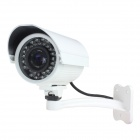 1.0MP Waterproof IP Network Camera w/ 36-IR LED / IR-CUT / RJ-45 - White