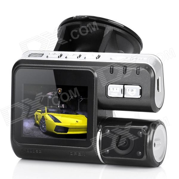 """2.0"""" LCD 5.0MP Wide Angle FHD Car DVR Camcorder with HDMI / AV / TF Slot"""