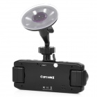 "2.0"" LCD Dual-Lens 300KP Wide Angle Car DVR Camcorder with HDMI / AV / TF Slot"