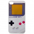 Stylish Protective PC Back Case for iPhone 4 / 4S - Game Boy Pattern