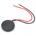 13mm x 2mm piezo summeria - musta (dc 9V / 5-Pack)