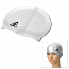 Soft Silicone Swimming Hat / Cap for Adult - Silver