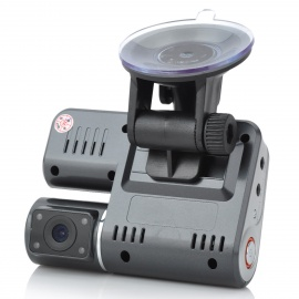 """X6 2.0"""" LCD 3.0MP CMOS Wide Angle Car DVR Camcorder"""