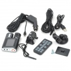 "X6 2.0"" LCD 3.0MP CMOS grand angle voiture DVR caméscope"