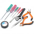 WLXY WL2807A 11-in-1 Pliers + Screwdrivers + Wrench + Flat Shaped File Tools Kit