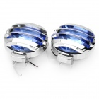 H3 55W 55~100LM Blue Light Car Halogen Light Lamps (9~16V / Pair)