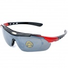 OBAOLAY Sports PC Lens Sunglasses with Replaceable Lens Set - Black