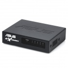 ASUS GX1005X 5-Port 10/100Mbps Ethernet Switch - Black