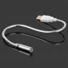 USB Powered Flexible Neck White LED Light