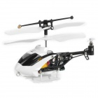 Mini Iphone/Ipod Touch/Ipad/ Controlled Rechargeable 3.5-CH R/C Helicopter - White + Black