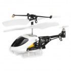 iPhone/iPod Touch/iPad Controlled Ultra-Mini 3.5-CH Infrared R/C Helicopter w/ Gyro - White + Black
