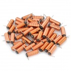 Wired Magnetic Bar Power Inductor - Orange (50-Piece Pack)