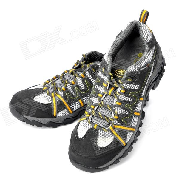 Topsky Outdoor Sports Hiking Shoes - Grey (Pair/Size-41)