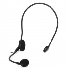 3.5mm Jack Headset Microphone - Black (100cm)