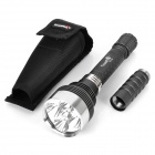 TrustFire TR-J16 4000LM 5-Mode Memory White Flashlight - Black (2 / 3 x 18650)