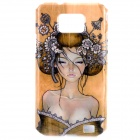 iMade Lost Girl Style Protective PC Case for Samsung i9100 - Khaki