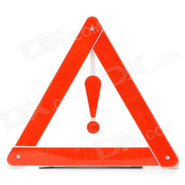 Auto Car Emergency Reflecting Triangle with Stand (39 x 1.2 x 35cm)