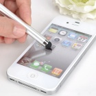 Alto Sensitive tela capacitiva caneta Stylus para iPhone 4 / 3G / 3GS / Ipad - Prata