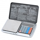 Portable Multi-Functional Digital Pocket Scale w/ Pricing - 1000g/0.1g (2 x AAA)