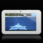 "C0709W 7.0"" Capacitive Touch Screen Android 4.0 Tablet PC with TF / Camera / Wi-Fi - White (4GB)"