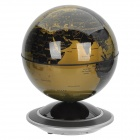 Junyoung 140mm Auto-Rotation Globe - Black + Golden (2 x AA)