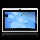 "C0708 7.0 ""kapazitiven Touchscreen Android Tablet PC mit 4,0 TF / Kamera / Wi-Fi - Weiss (4 GB)"
