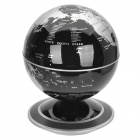 140mm Auto-Rotation Globe - Black + Silver (2 x AA)