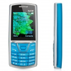 "HOTWAV E2152 GSM Bar Phone w/ 2.1"" Screen, Quad-Band, Dual-SIM and FM - Blue"
