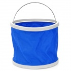 Portable Foldable Water Bucket - Blue (9L)