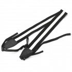 Adjustable Fabric Neck / Shoulder Sling Strap for DSLR - Black + White (60cm)