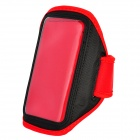 Stylish Sports Armband Case for HTC One X - Red + Black