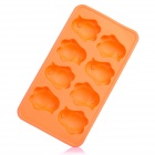 Silicone Chicken Shaped Ice Cubes Trays Maker DIY Mould - Orange